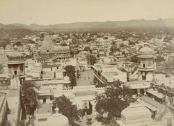 City from the palace, Udaipur